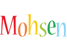 Mohsen birthday logo