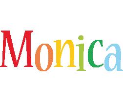 Monica birthday logo
