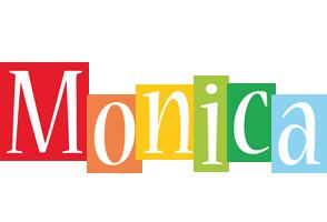 Monica colors logo