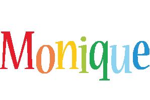 Monique birthday logo