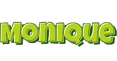 Monique summer logo