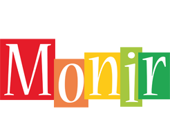 Monir colors logo