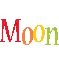 Moon birthday logo