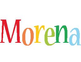 Morena birthday logo