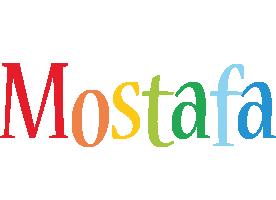 Mostafa birthday logo