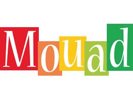 Mouad colors logo