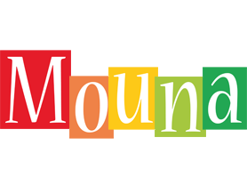 Mouna colors logo