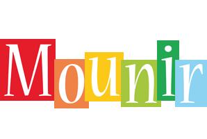 Mounir colors logo