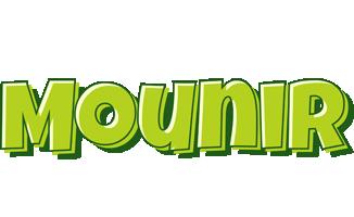 Mounir summer logo