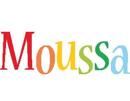 Moussa birthday logo