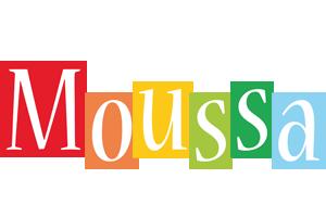 Moussa colors logo