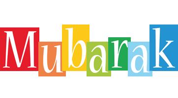 Mubarak colors logo