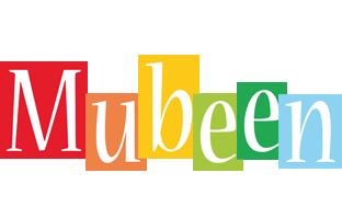 Mubeen colors logo
