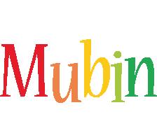 Mubin birthday logo