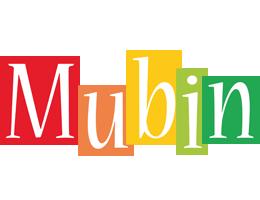Mubin colors logo