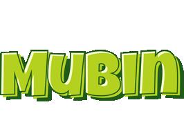 Mubin summer logo