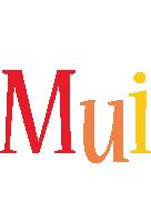 Mui birthday logo