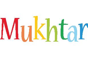 Mukhtar birthday logo