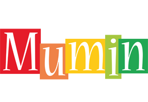 Mumin colors logo