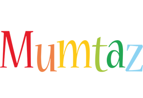 Mumtaz birthday logo