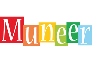 Muneer colors logo