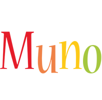 Muno birthday logo