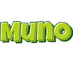 Muno summer logo
