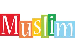 Muslim colors logo