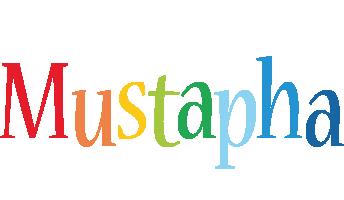 Mustapha birthday logo