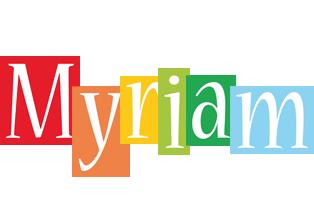 Myriam colors logo