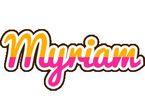 Myriam smoothie logo