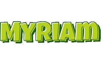 Myriam summer logo