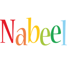 Nabeel birthday logo
