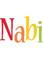 Nabi birthday logo