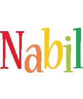 Nabil birthday logo