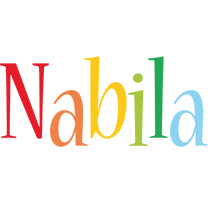 Nabila birthday logo