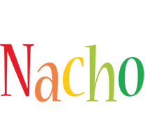 Nacho birthday logo