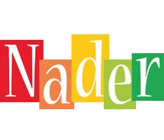 Nader colors logo