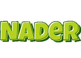 Nader summer logo