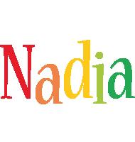 Nadia birthday logo