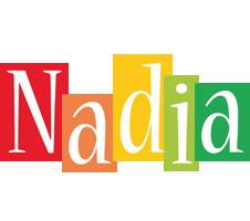 Nadia colors logo