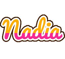 Nadia smoothie logo