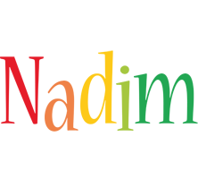 Nadim birthday logo