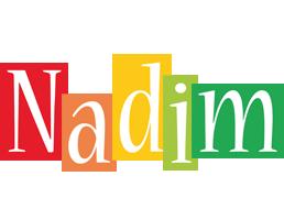 Nadim colors logo