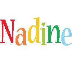Nadine birthday logo