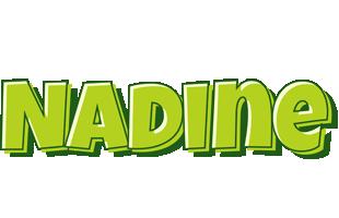 Nadine summer logo