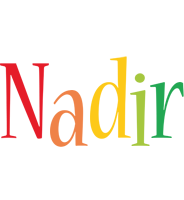 Nadir birthday logo