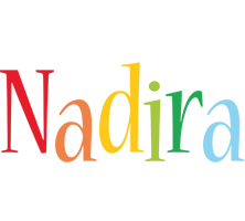 Nadira birthday logo