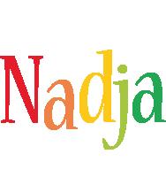 Nadja birthday logo