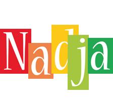 Nadja colors logo